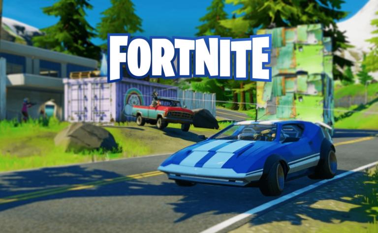 Carros chegando em Fortnite esta semana