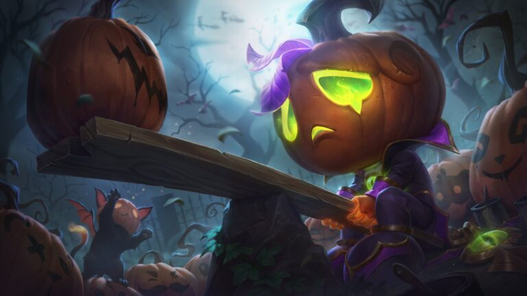 League of Legends revela temas de Halloween, alterações no patch 10.21