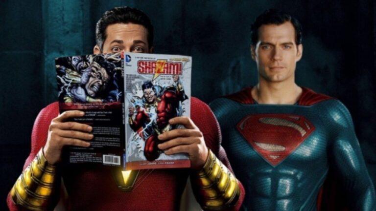 Shazam 2: Não teremos Henry Cavill como Superman no filme